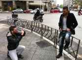 Dj.St Galen and Paul Sofianos' photoshoot
